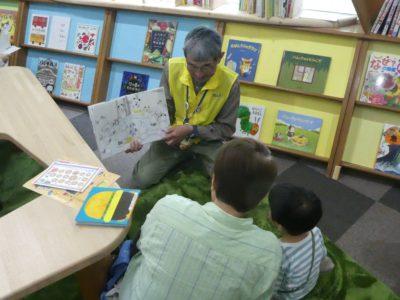 2018年4月27日(金)「平日は赤ちゃんと一緒にゆったり絵本で楽しもう!城ボラさんの読み聞かせ」