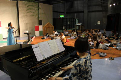 7月5日(木) 赤ちゃんとママのための♪小さな音楽会を開催しました