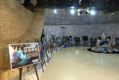 イベントホールで深海生物の企画展がスタート!