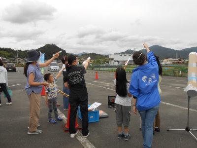部分日食観察会を開催しました!