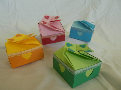 ペーパーアート倶楽部~ハートのチョコレートボックスを作ろう~